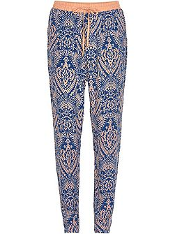 Print Tapered Trousers