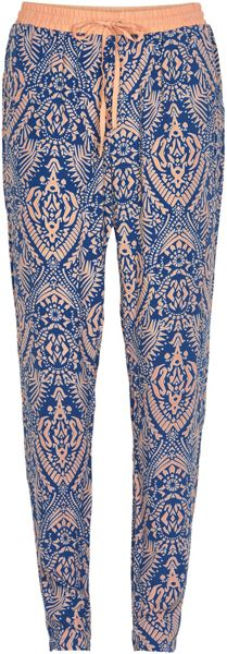 Soaked in Luxury Print Tapered Trousers