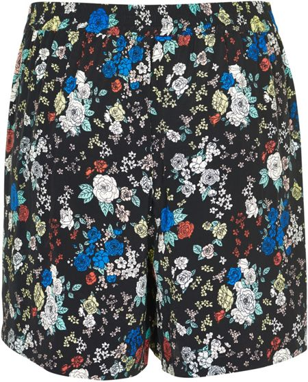 Soaked in Luxury Floral Print Shorts