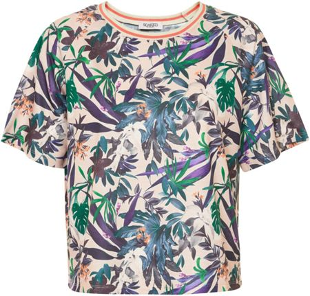 Soaked in Luxury Tropical Print Top