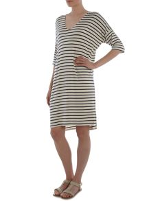 Part Two Relaxed dress in a soft and stretchy fabric