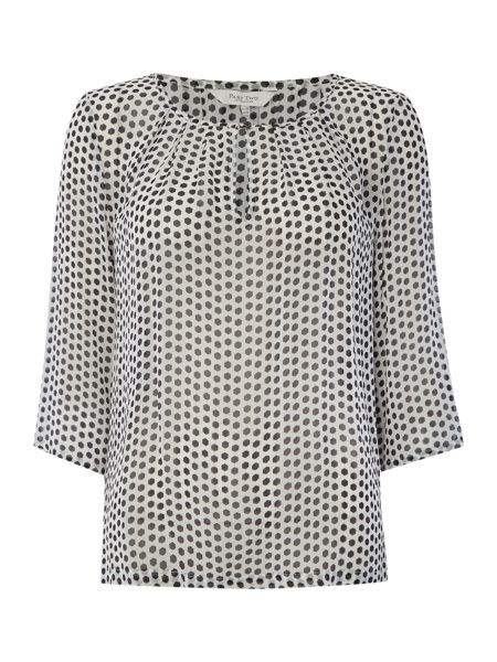 Part Two Effortless feminine blouse made from a light fabr