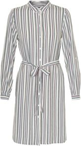 Soaked in Luxury Striped Shirt Dress