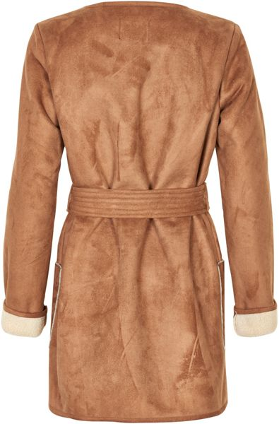 Soaked in Luxury Reversible Faux Sherling Coat