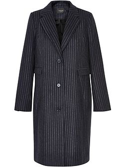 Pinstriped Coat