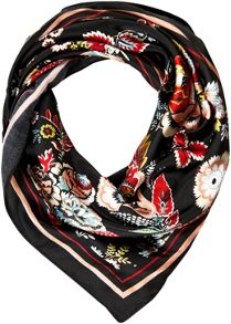 Soaked in Luxury Lightweight Floral Scarf
