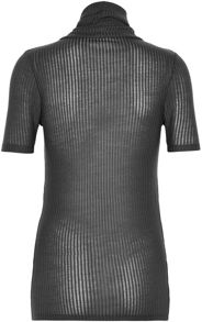 Soaked in Luxury Short Sleeved Top With Roll Neck