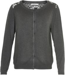 Soaked in Luxury Cardigan With Lace Detailing
