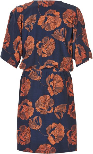 Soaked in Luxury Floral Wrap Dress