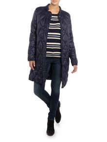 Part Two Stylish soft quilted fabric coat