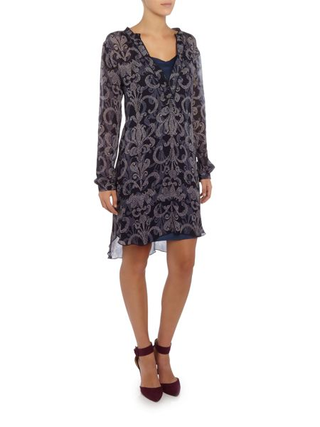 Part Two Effortless and feminine dress in a light woven vi