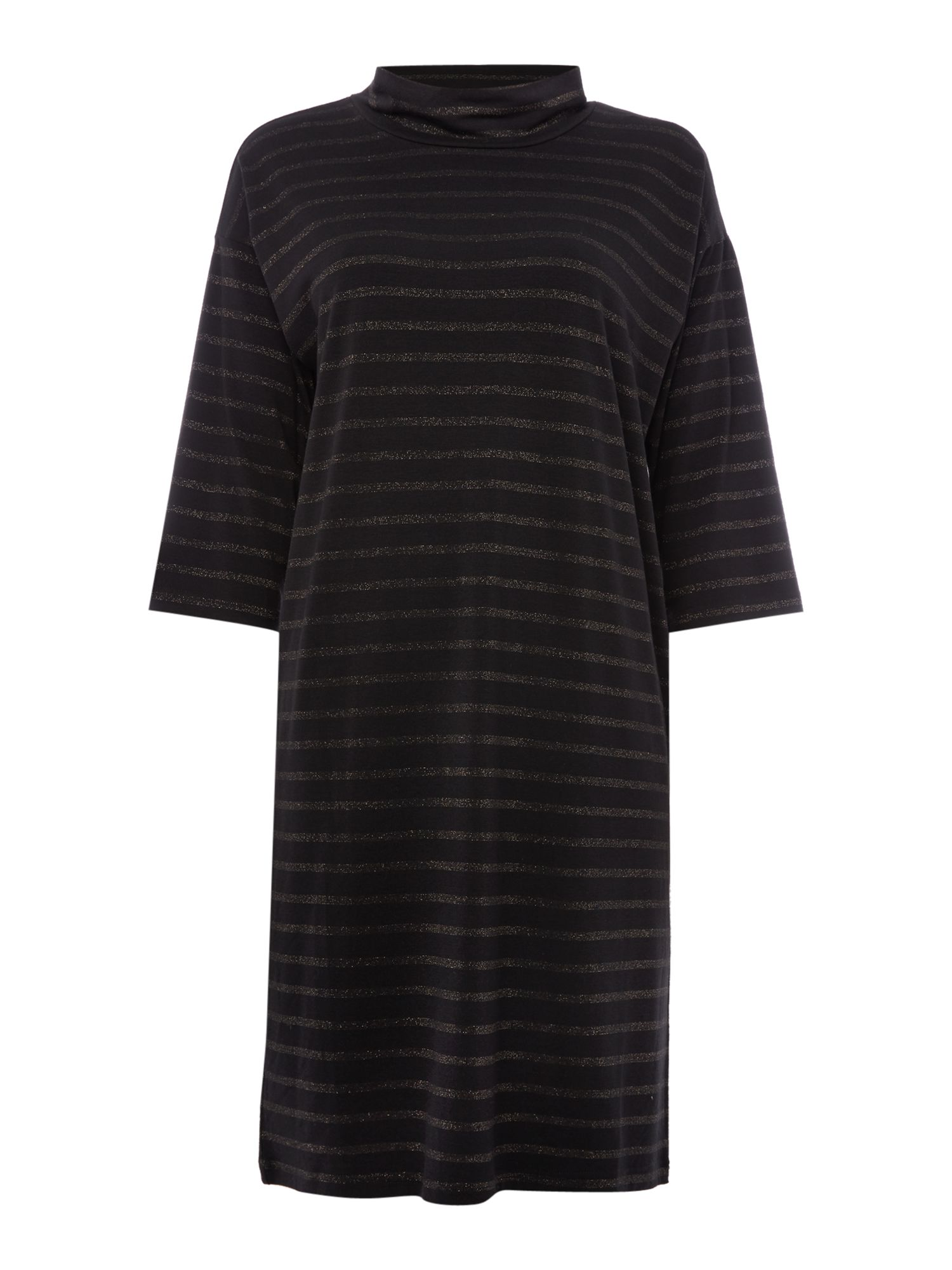 Part Two Part Two Relaxed fit dress made from a soft and stretchy f, Black