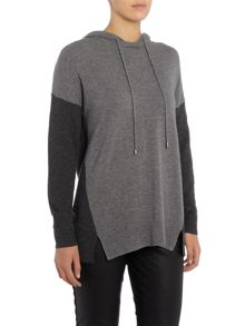 Part Two Stylish pullover in soft cashmere blend with cont