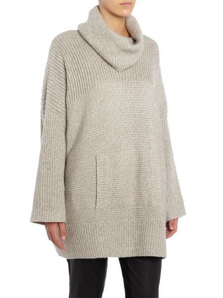 Part Two Stylish knitted poncho