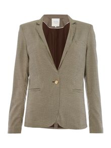 Part Two Check blazer in a comfortable fabric