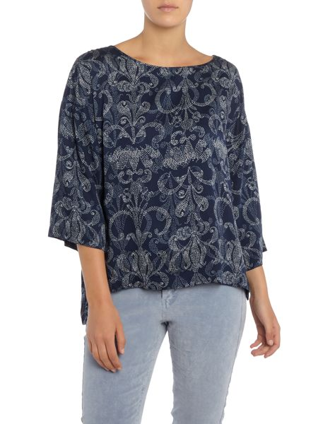 Part Two Feminine blouse with a detailed print