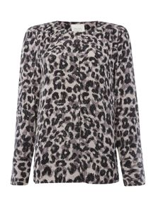 Part Two Stylish animal print shirt