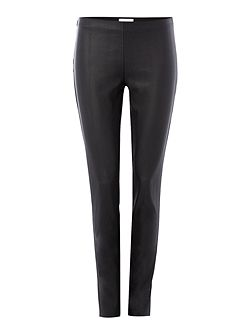 Stylish skinny fit faux leather pants
