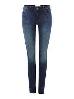 Slim fit jeans in a stretchy denim