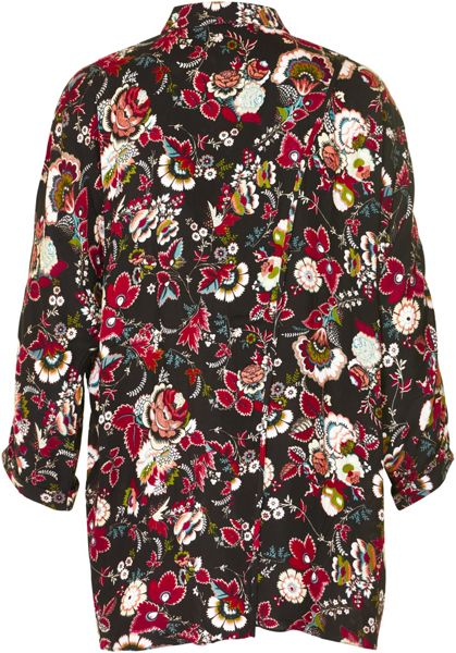Soaked in Luxury 3/4 Sleeved Floral Shirt