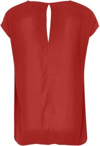Soaked in Luxury V-neck Top With Embellished Shoulders