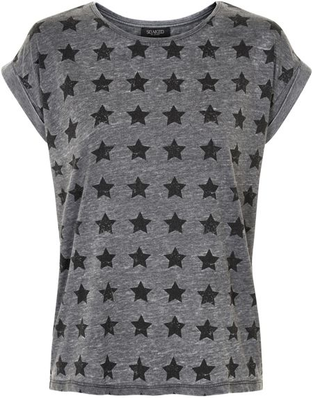 Soaked in Luxury Star Print Tee