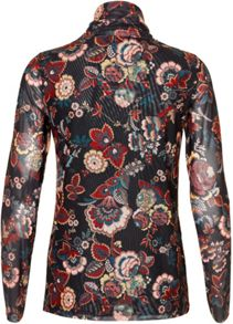 Soaked in Luxury Floral High-neck Top