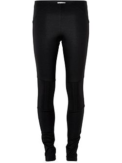 Leggings With Detailed Knee Patches
