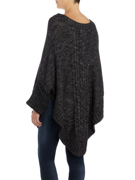 Part Two Beautiful poncho crafted from a soft cotton