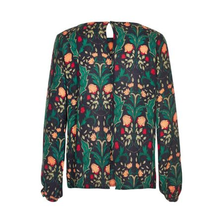Soaked in Luxury Retro-inspired blouse
