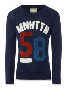 name it Boys Manhattan Graphic Jumper