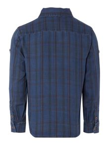 name it Boys Reversible Check Shirt