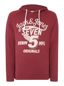 Jack & Jones Wing Logo Hooded Sweatshirt