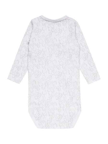 name it Babys Rabbit print bodysuit