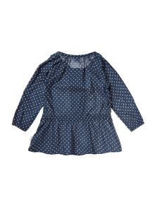 name it Girls Polka dot dress with tie waist