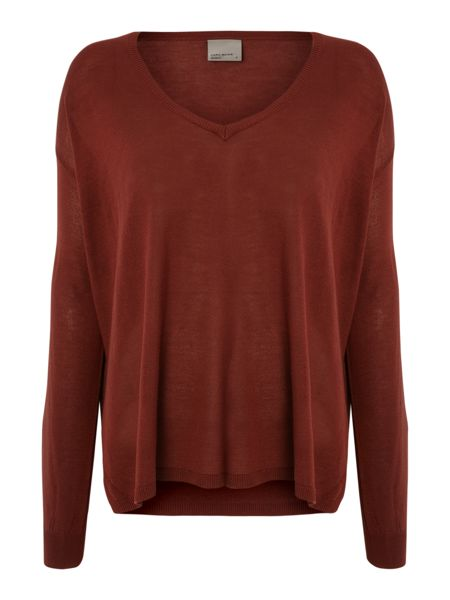 Vero Moda Long Sleeve V Neck Blouse