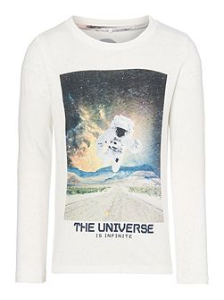 Boys Astronaught graphic top