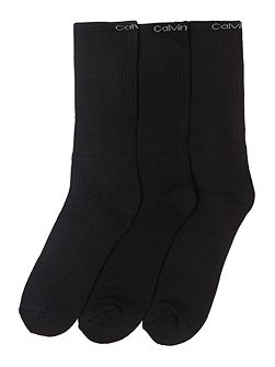 Men's Calvin Klein 3 pack Coolmax sports socks