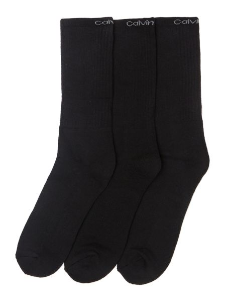 Calvin Klein 3 pack Coolmax sports socks