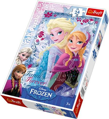 Disney Frozen Sisters From The Frozen Land Puzzle