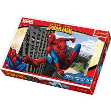 Web-slinging spider-man 160 piece jigsaw puzzle