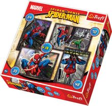 Marvel Spiderman 4-In-1 Puzzles