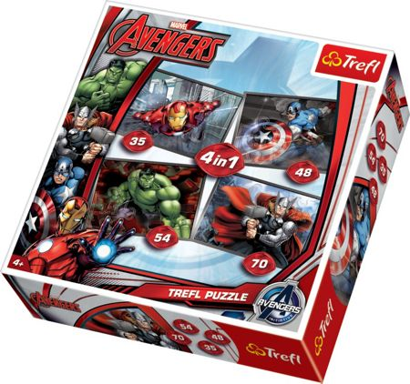 The Avengers 4-in-1 Puzzle