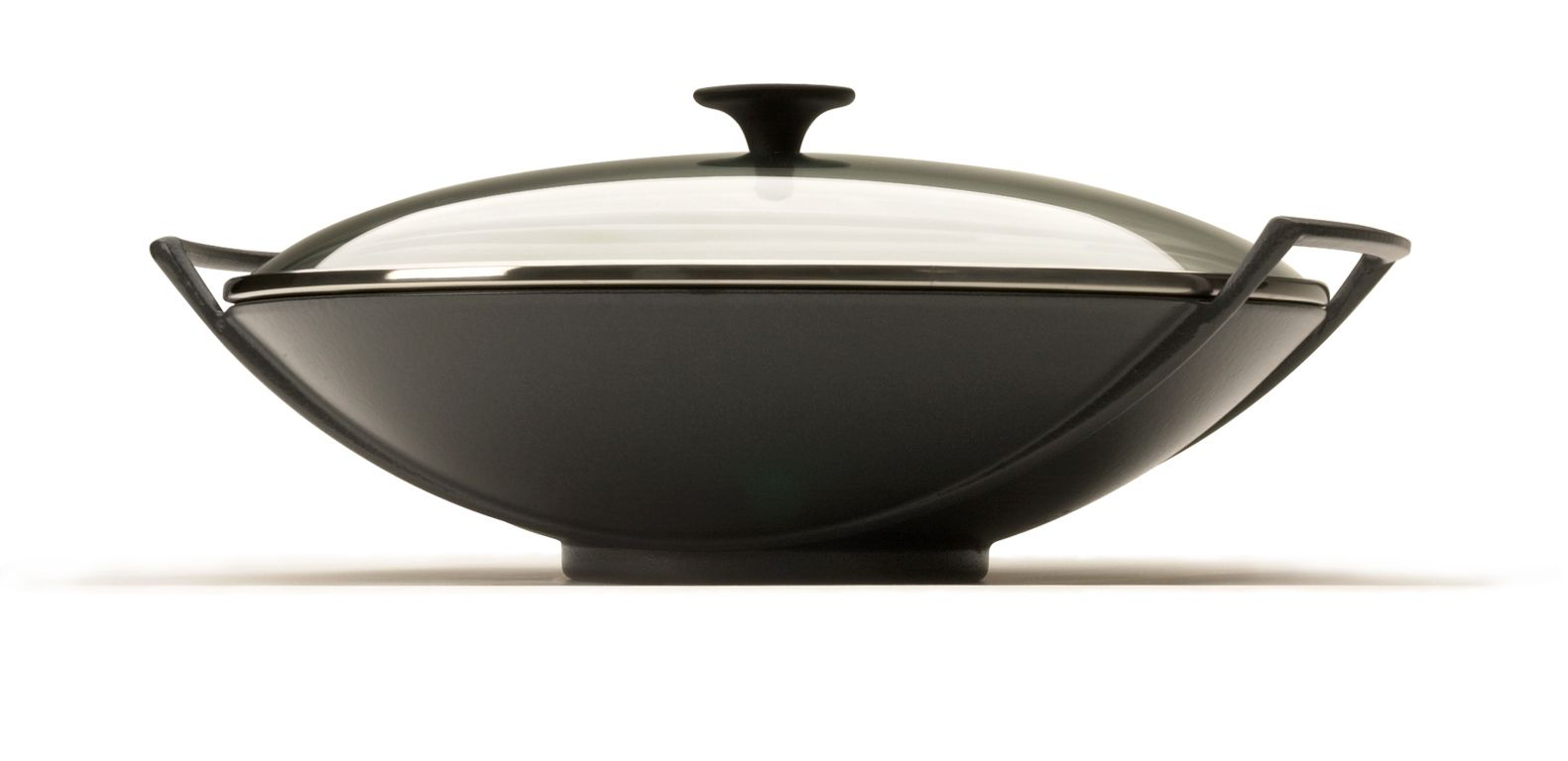 Cashback 36cm wok with glass lid by Le Creuset