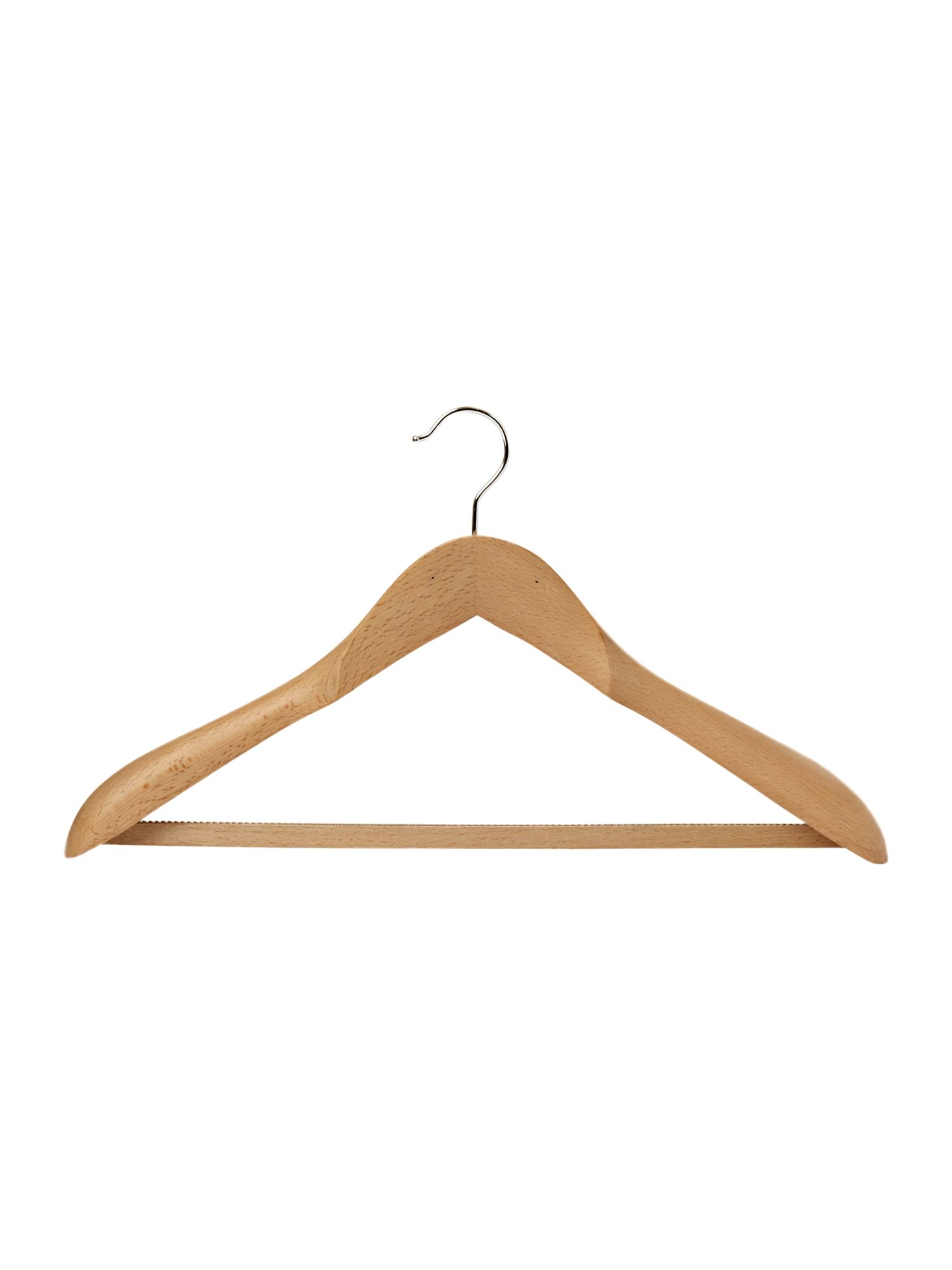 wood suit hanger