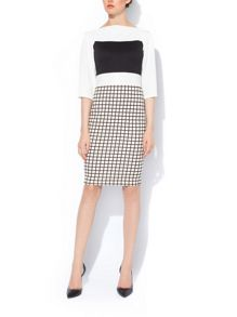 MAIOCCI Collection Contrast Dress