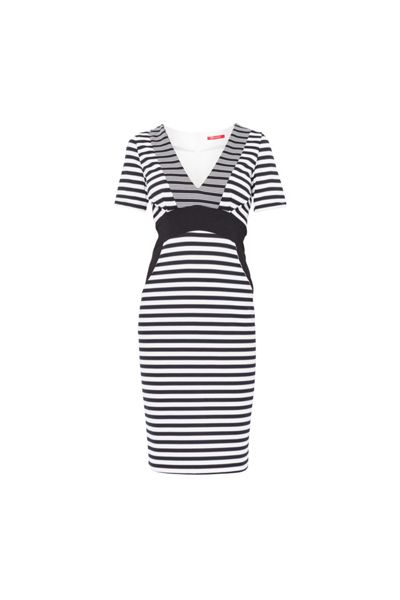 MAIOCCI Collection Stripey Classic Dress