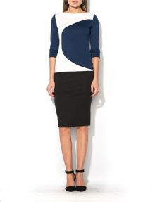 MAIOCCI Collection Circles Detail Dress