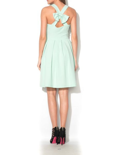 MAIOCCI Collection Cross Back Skater Dress