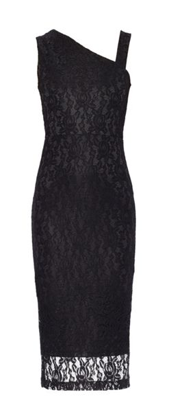 MAIOCCI Collection One Shouldered Lace Dress